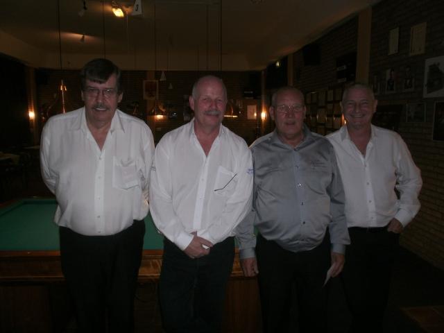 Arbiters Kaderteam T.Smaak, S.Jacobs, H.Leijendeckers, W.v.d.Biezen